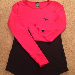 """Tops - 💖 Awesome VS """"PINK"""" Pink and Black Shirt 💖"""